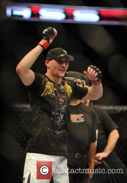 UK fighter Paul Sass  UFC 120 -...