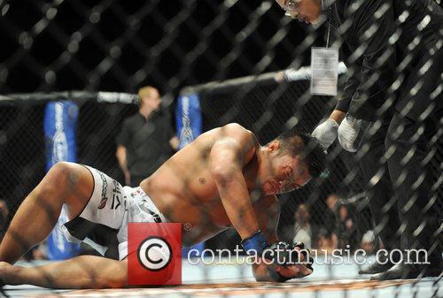 Yoshihiro Akiyama of Japan UFC 120 - Ultimate...