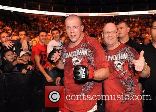 UK fighter Rob Broughton  UFC 120 -...