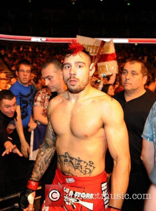 Dan Hardy from Nottingham UK UFC 120 -...