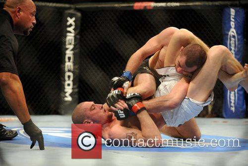 UK Fighter Paul Sass who won submission of...