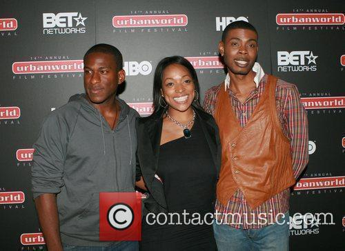 Segun Akande, Kelita Smith and Glamo  The...
