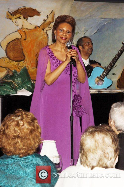 Leslie Uggams  performing during the opening night...
