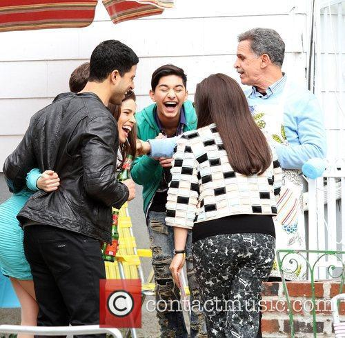 Adam Rodriguez, America Ferrera and Mark Indelicato 2