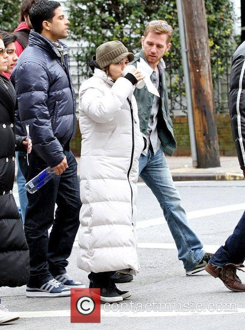 On location filming for 'Ugly Betty' in Queens