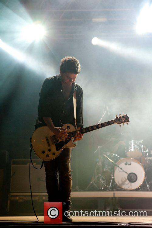 Portuguese band 'UHF' performing live at Festas do...
