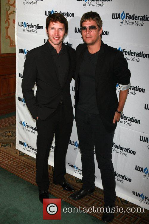 James Blunt and Rob Thomas UJA-Federation's 2010 Music...