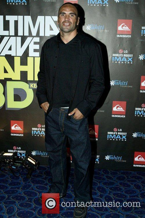 Anthony Mundine The premiere of Kelly Slater's 3D...