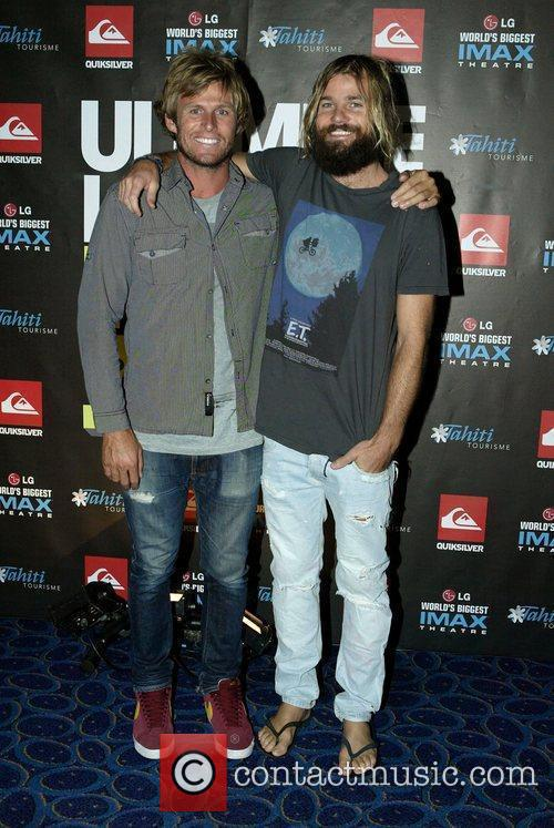 The premiere of Kelly Slater's 3D surf documentary,...