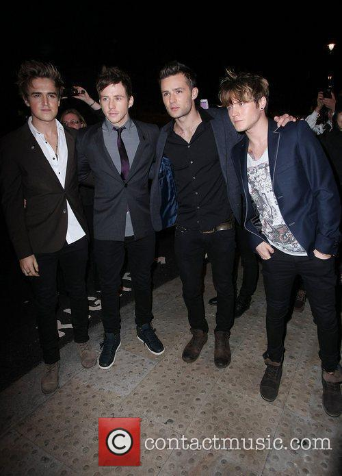 Danny Jones, Dougie Poynter, Harry Judd, Mcfly and Women 1
