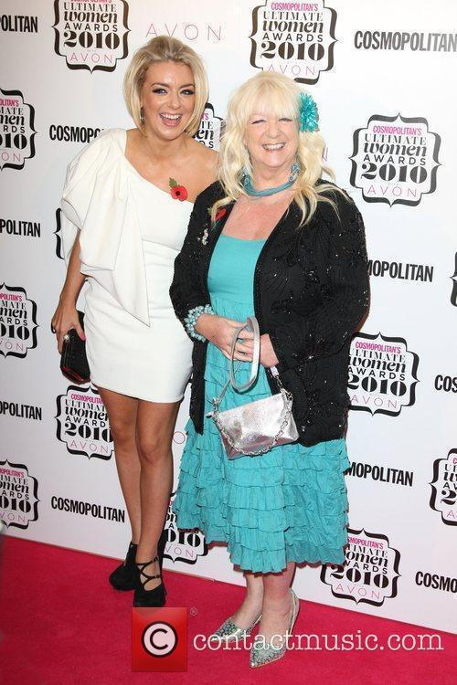 Sheridan Smith with her mum Cosmopolitan Ultimate Women...