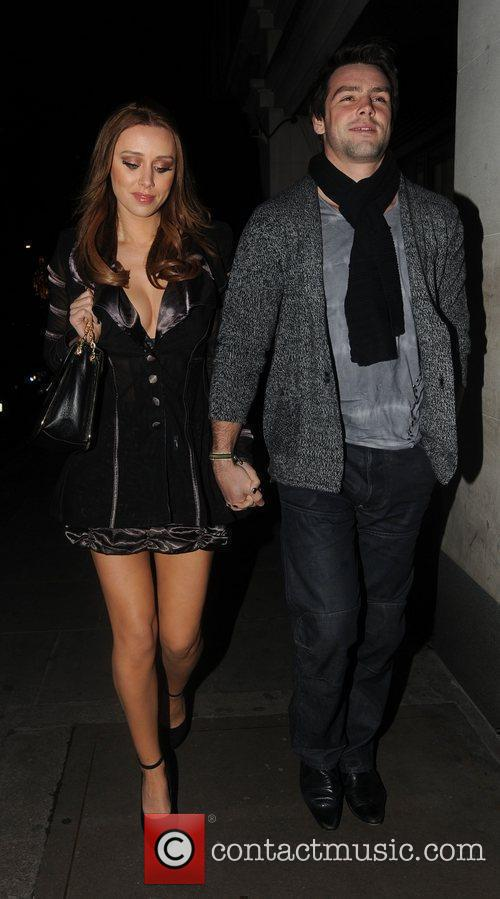 Una Healy of The Saturdays and Benjamin Foden...