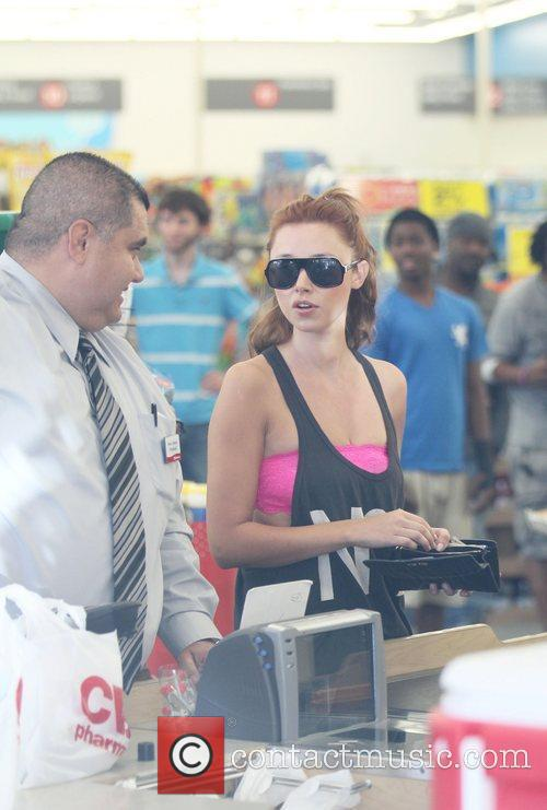 Of The Saturdays is seen shopping at Rite...
