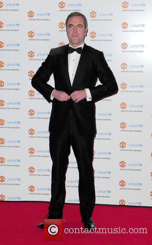 James Nesbitt arrives at the Unicef Gala dinner...