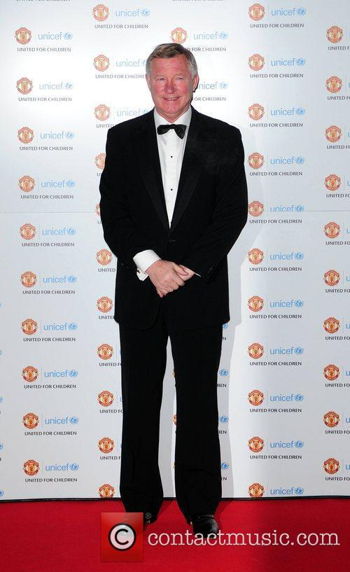 Sir Alex Ferguson and Unicef 2