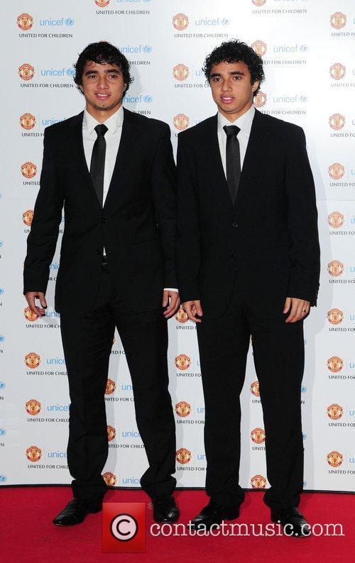 Da Silva, Manchester United and Unicef 1