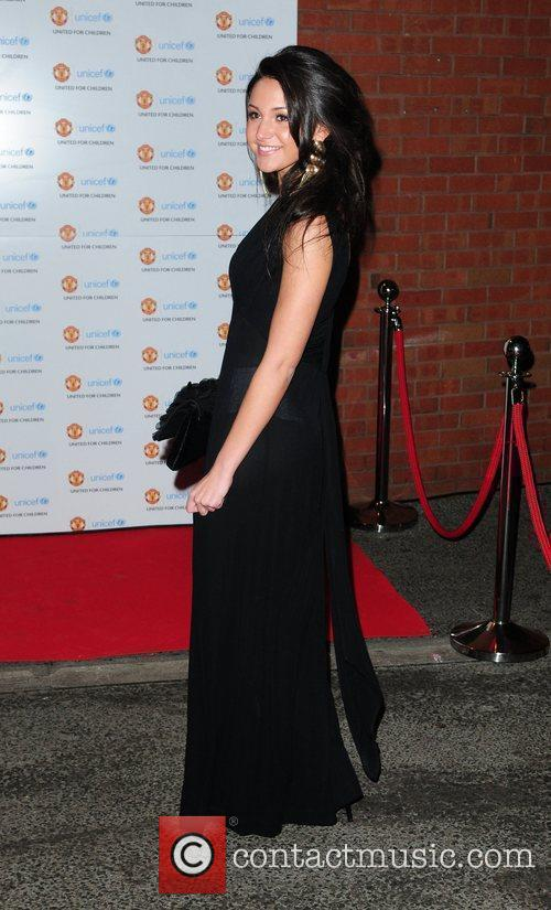 Michelle Keegan, Manchester United and Unicef 4