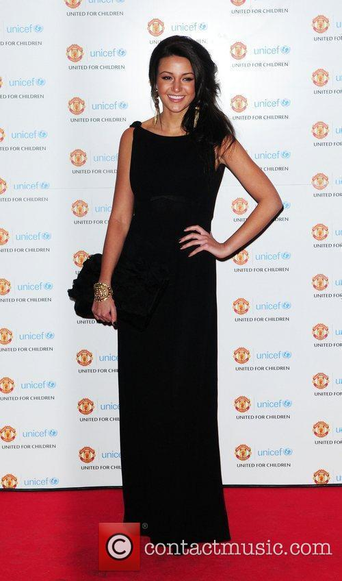 Michelle Keegan, Manchester United and Unicef 1