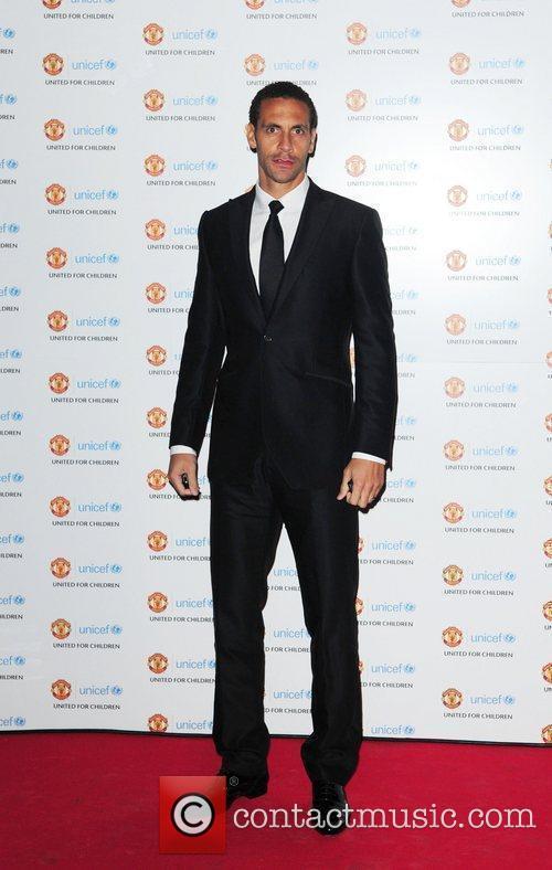 Rio Ferdinand  UNICEF Dinner 2010 held at...