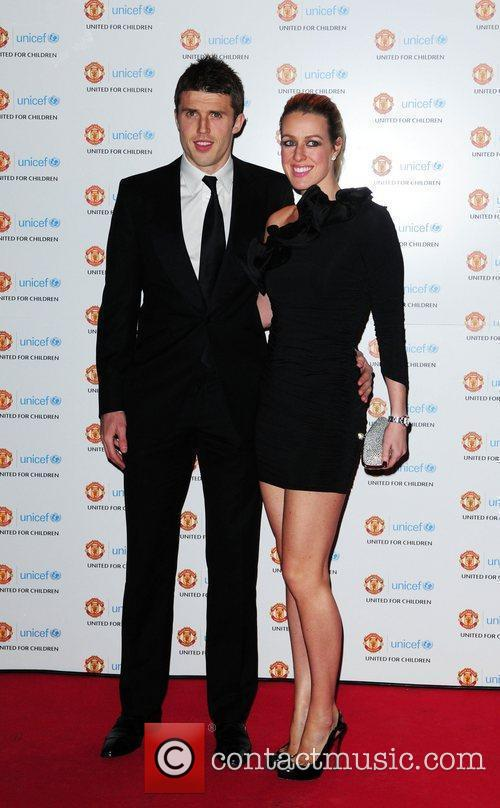Michael Carrick and his wife Lisa Roughead UNICEF...