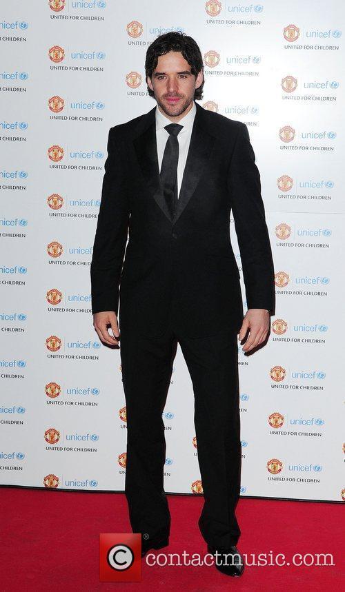 Owen Hargreaves UNICEF Dinner 2010 held at Manchester...