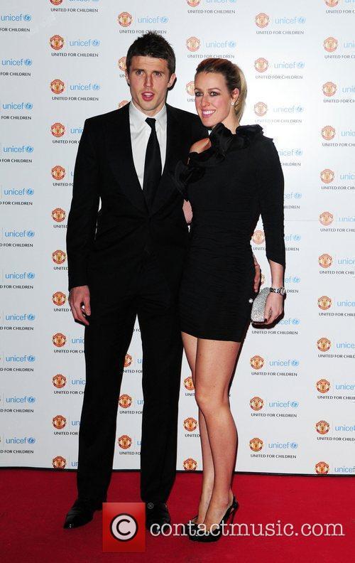 Micheal Carrick and Lisa Roughead UNICEF Dinner 2010...