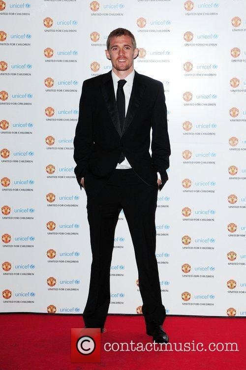 Darren Fletcher UNICEF Dinner 2010 held at Manchester...