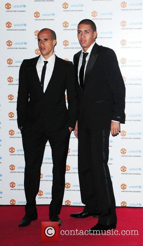 Gabriel Obertan and Chris Smalling UNICEF Dinner 2010...