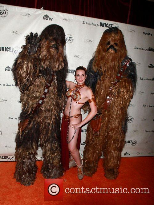 Star Wars Characters 1st Annual UNICEF Masquerade Ball...