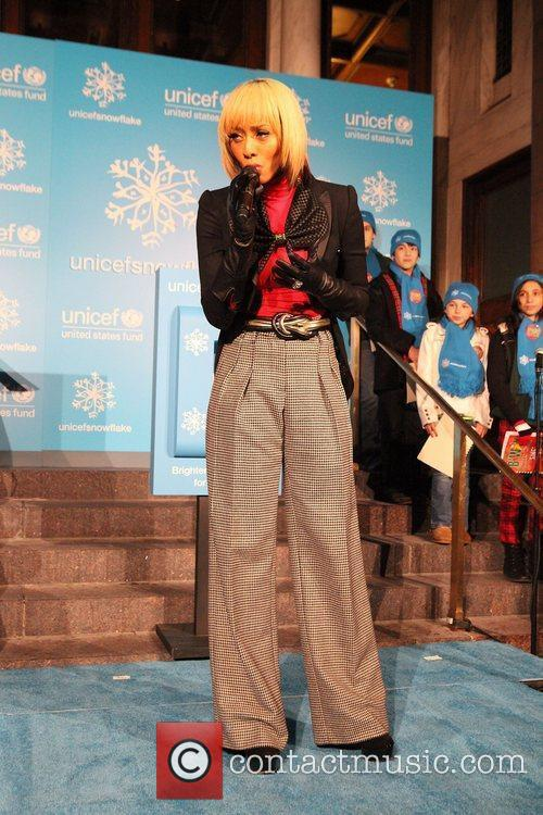 Keri Hilson and Unicef 3