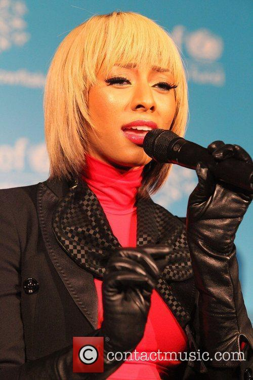 Keri Hilson and Unicef 8