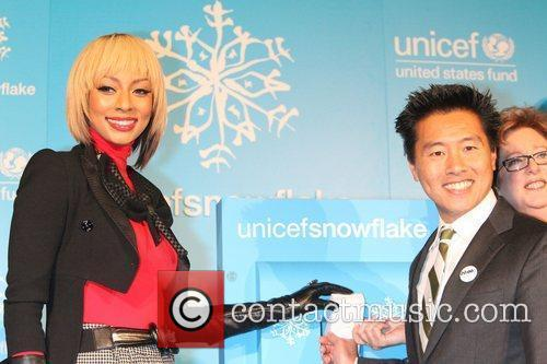 Keri Hilson and Unicef 2