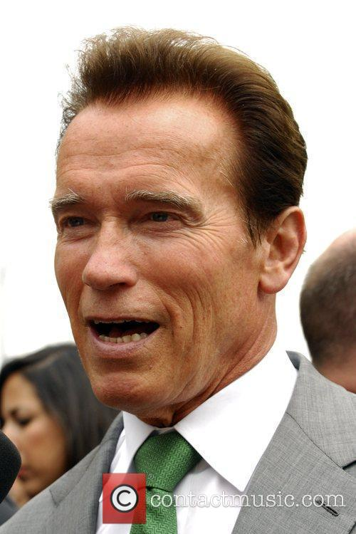 Arnold Schwarzenegger The reopening of Universal Studios' New...
