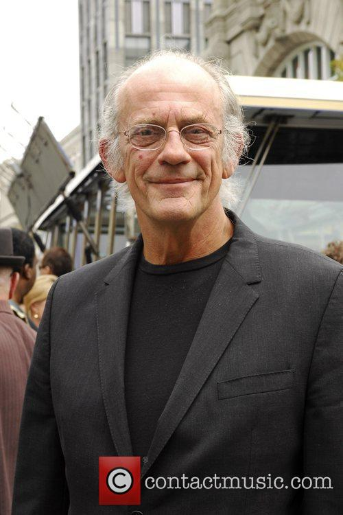 Christopher Lloyd The reopening of Universal Studios' New...