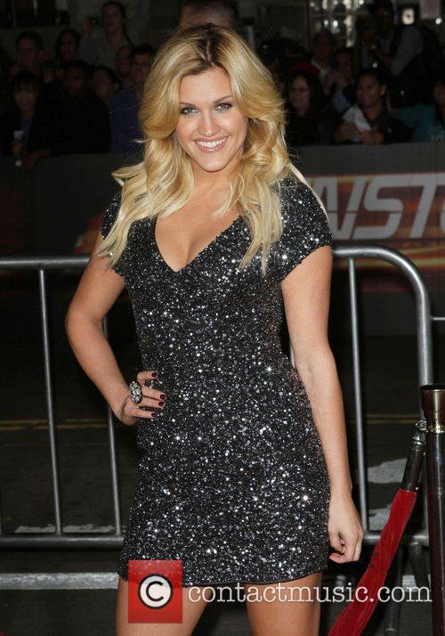 Ashley Roberts Los Angeles Premiere Of Unstoppable Held...