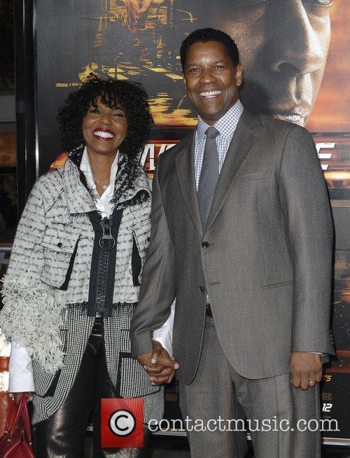 Denzel Washington and Pauletta Washington 7