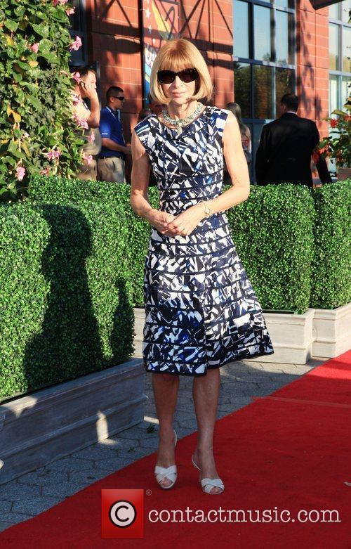Anna Wintour 2010 US Open Opening Night Ceremony...