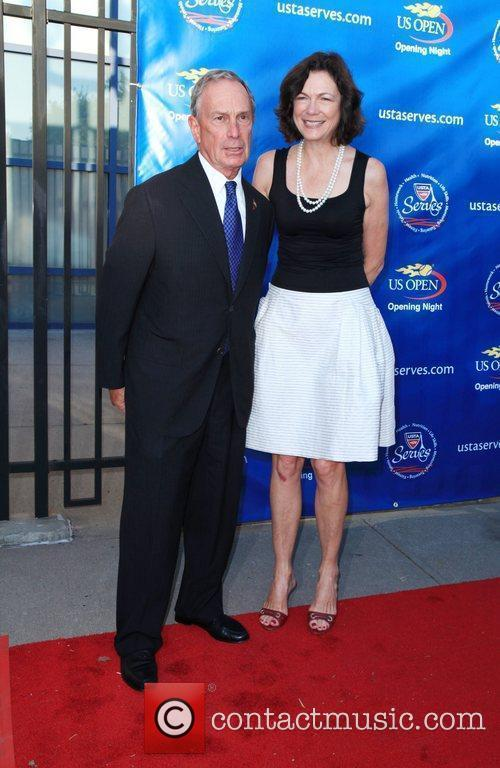 Mayor Michael Bloomberg and Diana Taylor 2010 US...
