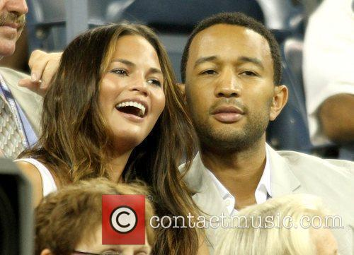 Singer John Legend and John Legend 1