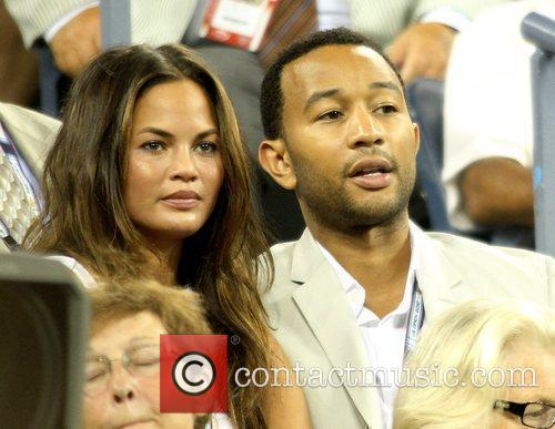 Singer John Legend and John Legend 5