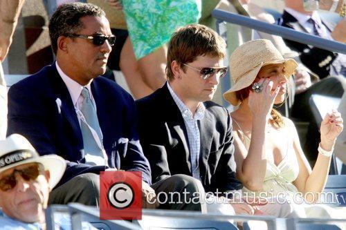 Guest and Rob Thomas and wife Marisol Maldonado...