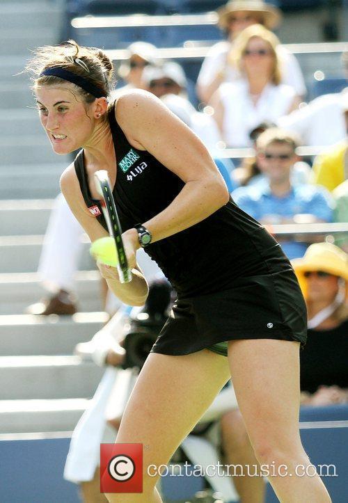 Venus Williams (USA) and Rebecca Marino (CAN) compete...