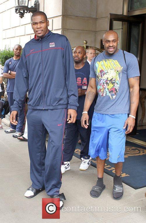 Kevin Durant of the USA Basketball Men's National...