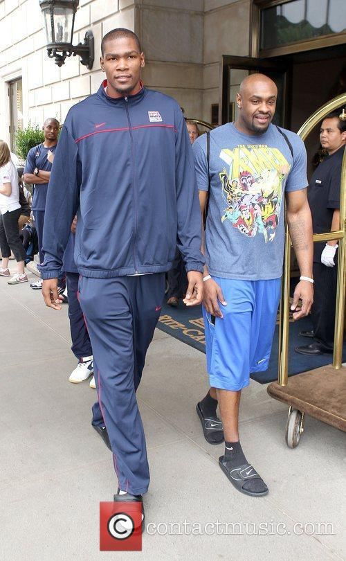 Of the USA Basketball Men's National team arriving...
