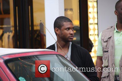Usher out and about in Gustavia on New...
