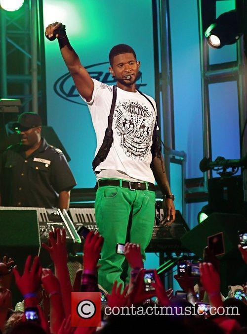 Usher and Jimmy Kimmel 11