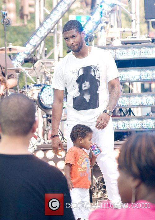Usher and Cbs 5