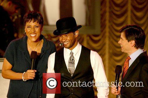 Robin Roberts and Usher 1