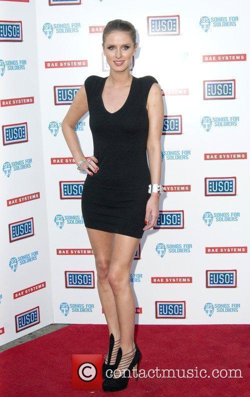 Nicky Hilton Paris Hilton headlines the USO's Swingin...