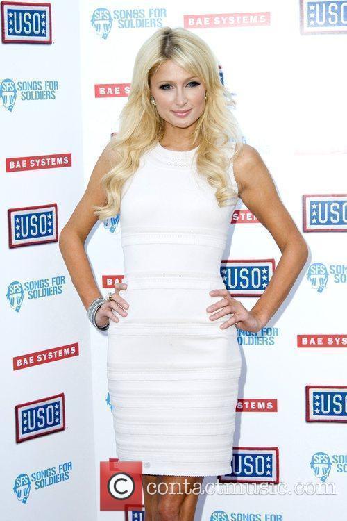 Paris Hilton  headlines the USO's Swingin Salute...